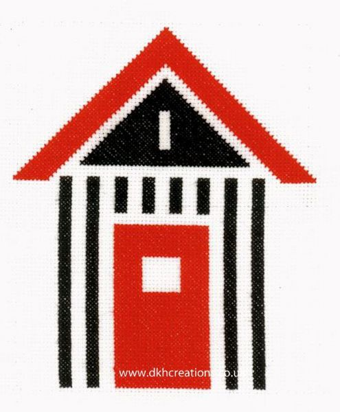 Beach Shed Cross Stitch Kit